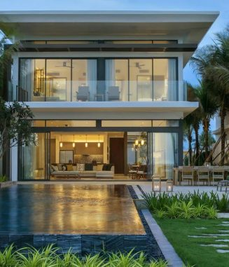 Beach-House-Front-View-Melia-Ho-Tram-Vietnam