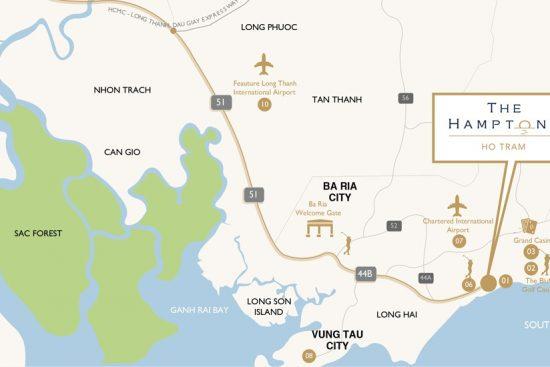 Melia-Ho-Tram-Vietnam-Map